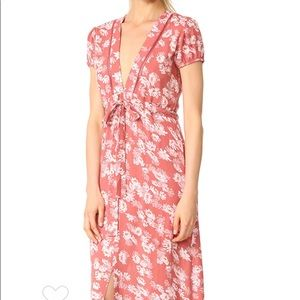 WAYF Maya Waist Tie Dress